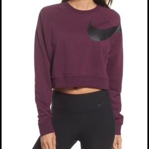 Nike Dry Versa Crop Top Sweater